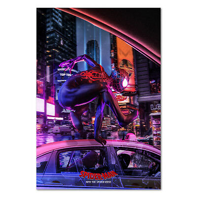 Spider Man Into the Spider Verse Movie Poster - High Quality Prints - B2