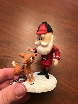 rudolph and the island of misfit toys santa figure enesco retired