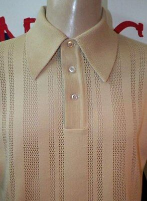 TOTAL MOD . HARD TO FIND.  HIGH CLASS 1960 VINTAGE (Chest 44/Length 26) LARGE