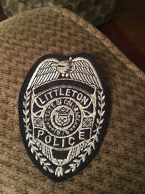 Littleton Police, Colorado Logo Patch