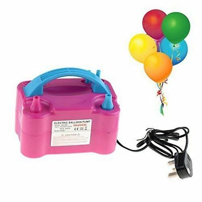 Electric Air Balloon Pump,Portable Dual Nozzle Inflator/Blower ,Party Decoration