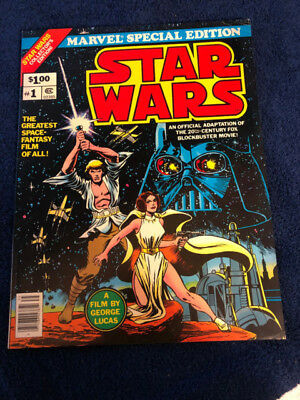 """Marvel Special Edition - """"STAR WARS"""", Issue #1, 1977, Collector's Edition"""