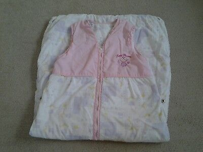 Baby Girls Sleeping  Bag Adjustable 12-18-24-36 months 2.5 Tog .Great Condition