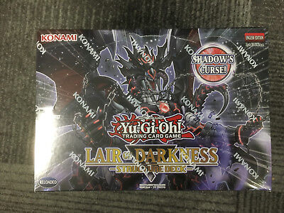 Yu-Gi-Oh Lair of Darkness Structure Deck 1st edition Factory Sealed NEW
