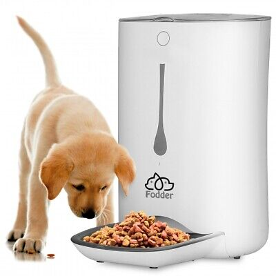 SereneLife SLAPF30 Smart Automatic Food Dispenser, Digital Pet Cat & Dog Feeder