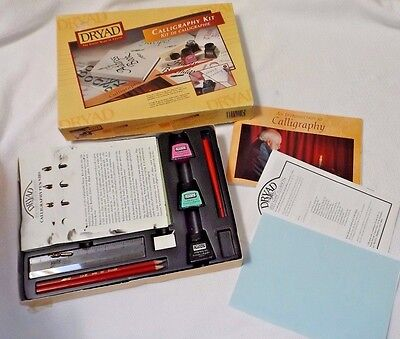 Calligraphy Starter Kit With Instructions Booklet By Dryad 10+ Years