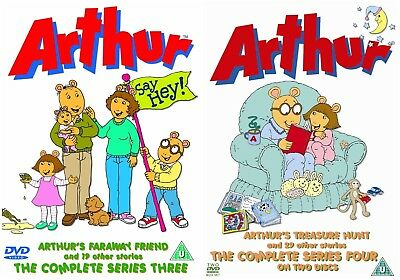 ARTHUR COMPLETE SEASON 1 2 3 4 Collection Includes 130
