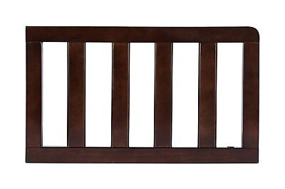 Delta Children Toddler Guardrail, Dark Chocolate 0080-204