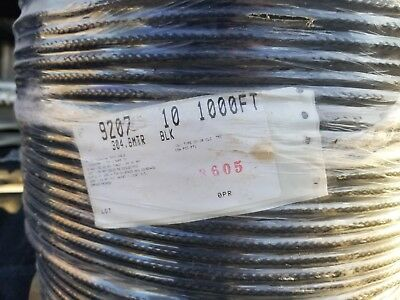1500' Belden 9207 20AWG Shielded Twinaxial (Twinax) Cabling, 100 Ohm 2 Spools,