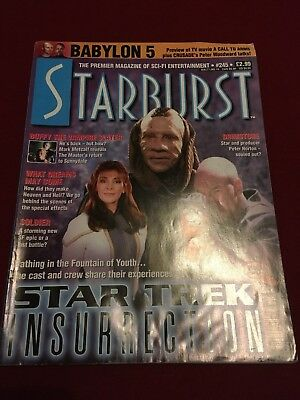 Starburst Magazine Issue 245 Jan 1999