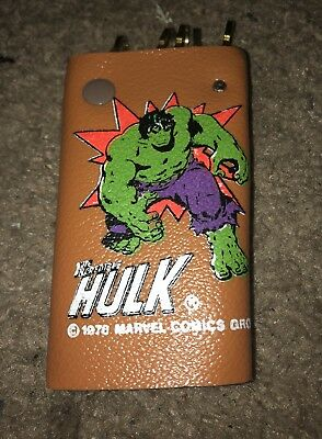 1978 INCREDIBLE HULK Vintage Key Wallet - Marvel Comics