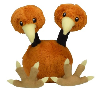 Pokemon Plush doll Pokémon fit Doduo Japan Pocket Monster New anime