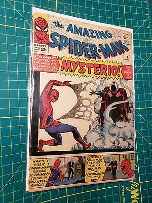 Amazing Spiderman #13, 1St Mysterio! Low Grade Affordable Copy! No Reserve! L@@k