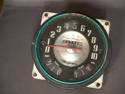 Vintage Used OEM 1955 Willys Speedometer Gauge Assembly