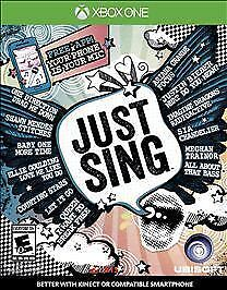 Just Sing (Microsoft Xbox One, 2016) Brand NEW Sealed