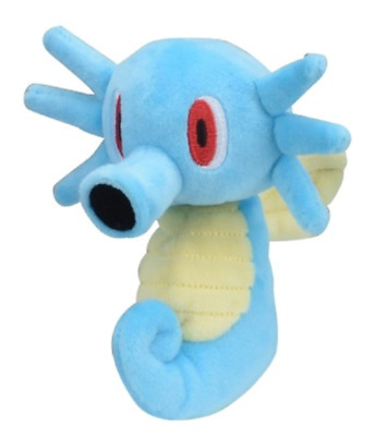 Pokemon Plush doll Pokémon fit Horsea Japan Pocket Monster New anime