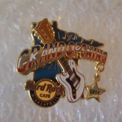 hard rock cafe  Minneapolis hrc **Grand Opening pin
