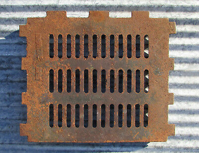 Cast Iron Wood Heating Stove Grate Circulator Furnace Parts Vintage Antique Old