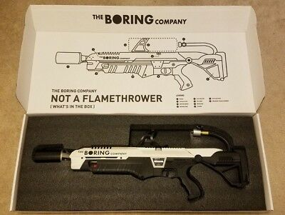 "The Boring Company ""Not-a-Flamethrower"" 🔥 {Brand New! Never Used}"