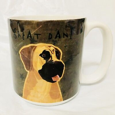 Oversized Great Dane Dog Lovers Mug Cup Puppy New Great Gift