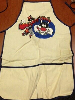 """WB/Warner Bros./Looney Tunes Sylvester The Cat """"Scrumptious"""" New adult apron"""