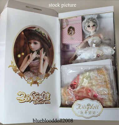 1/3 vinyl bjd 60cm full set Kilig doll #1 with outfits shoes wig stand free gift