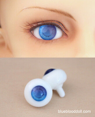 PF Exquisite BJD AOD SD Dollfie 12mm Dark Blue Glass Eye Outfits ##05