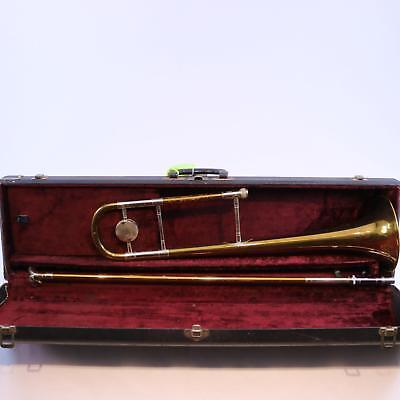 C.G. Conn Model 78H Special Order .525 Bore Trombone SN 254720 RED BRASS