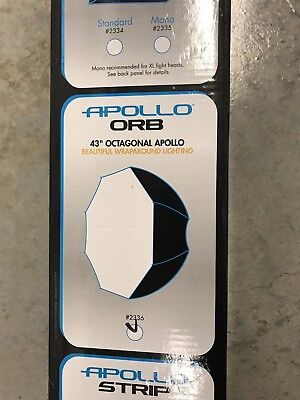Westcott 43 In. Apollo Orb Speedlite Soft Box Umbrella Softbox  (Open Box) Mint