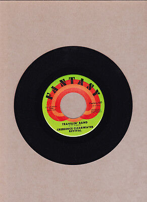 Creedence Clearwater Revival - Travelin' Band / Stop The Rain  45 Rpm  Ex  1970