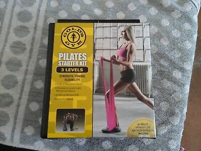 Pilates Starter Kit by Gold's Gym 3 levels everything inbox Guidebook Work Out