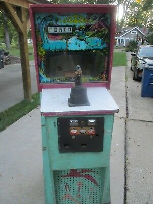 """1969 Midway """"1 Million Bc"""" Rifle Arcade Game Complete..hard To Find...no Reserve"""