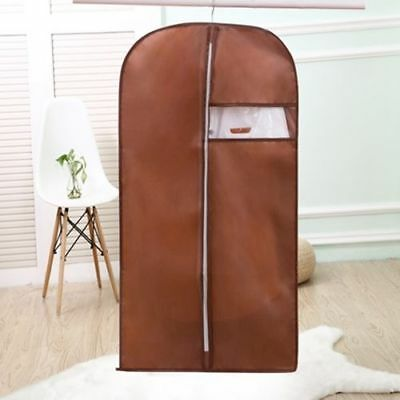 brown Storage Protect Cover Travel Bag for Garment Dress Clothes Coat Jacket .3