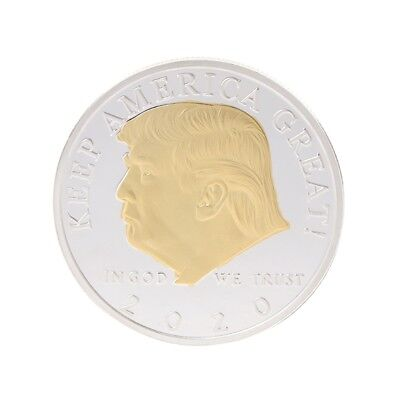 Commemorative Coin 2020 American President Trump Arts Gifts Souvenir Collection