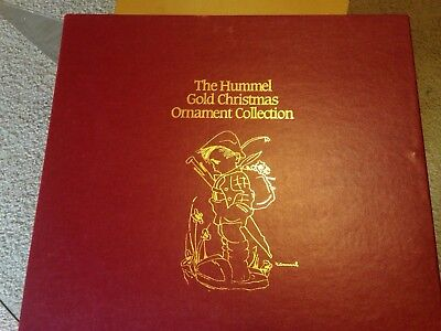 The Danbury Mint Hummel Gold Christmas Ornament Collection Lot of 36 SALE NEW!!!