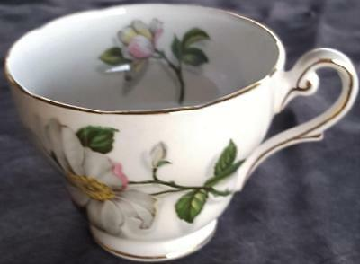 Antique Royal Standard Footed Teacup Fine Bone China Camellia Pattern - PRETTY