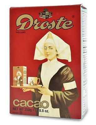 DROSTE Cocoa Powder for Baking or Drinking 250g, Imported from Holland, cooking