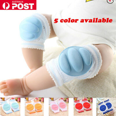 Baby Infant Toddler Knee Pads Cotton Crawling Cushion Safety Pad Protector AU
