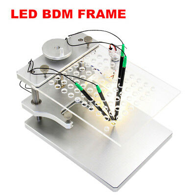 LED BDM Frame Adapter FOR KESS KTAG FGTECH ECU Chip Tuning Tool Stainless Steel