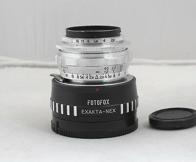 E. Ludwig Meritar 50mm f/2.9 Adapted For Sony E-mount Germany 1962 Manual Lens
