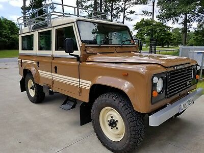 """1984 Land Rover Defender 110"""" County 1984 Land Rover 110 County"""