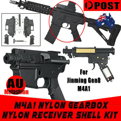 Upgrade Receiver Shell Kit& Gearbox &Wire JinMing Gen8 M4A1 Gel Ball Blaster Toy