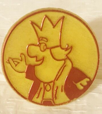 BURGER KING vintage premium plastic ring - 1970s