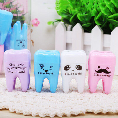 Super Cute Tooth Pattern Pencil Sharpener School Kid's Office Supplies JOAU