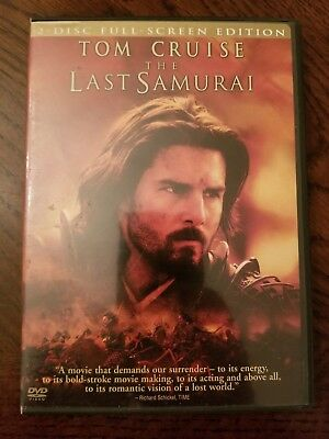 The Last Samurai with Tom Cruise 2 Disc Full Screen Edition DVD Movie