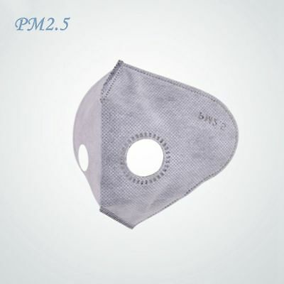 10pcs Anti-PM2.5 Dust-proof Activated Carbon Mask Filter for Outdoor Cycling Ski