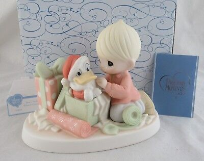 "Disney Precious Moments ""There's Nothin' To It When It Comes To You"" in Box"