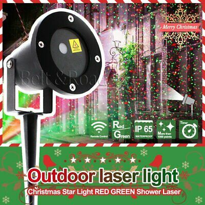 Christmas Laser Fairy Light Wall Projector Outdoor Landscape LED Variegated Lamp