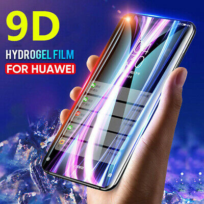 Genuine 9D Full Screen Protector Hydrogel Film For Huawei P10 Mate 20 Pro Lite