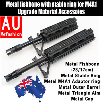 Metal Fishbone Upgrade Material For JinMing Gen8 M4A1 Gel Ball Toy Blaster Gun